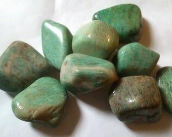 approximately 4.5 cm 1 wrapped Amazonite stone