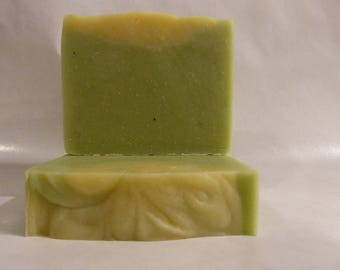 Lemon Eucalyptus - Cold Process All Natural Handmade Soap