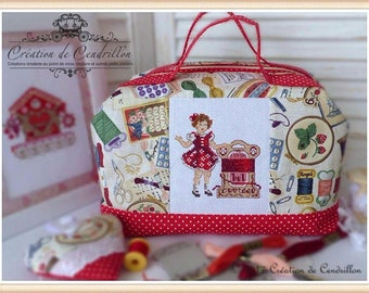 Tote bags/Diaper bags/ Shoulder handbags/Сross Stitch/Embrodery/embroidery cross stitch custom/finished cross stitch