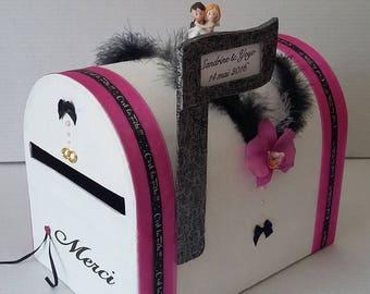 American mailbox wedding urn