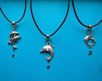Dolphin pendant with free gift pouch choice of 1