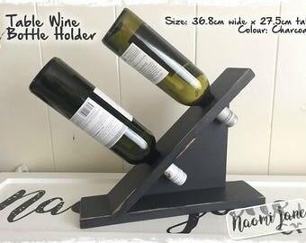Table Wine Bottle Holder