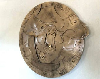 Metal Minotaur Shield