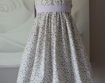 3 floral cotton dress