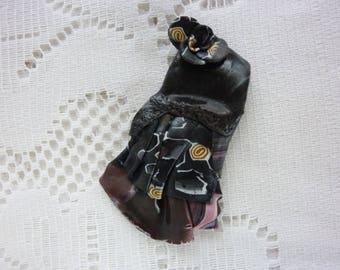 POLYMER CLAY CREATION GYPSY STYLE DRESS