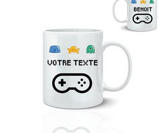 Custom video games - ceramic mug mug 325 ml