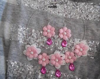 set cotton jewelry
