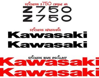 kawasaki z750 stickers