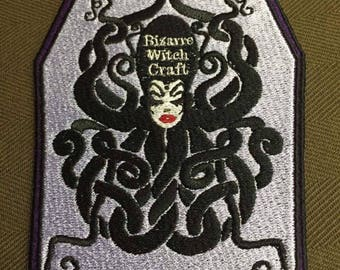 Patches collaboration with Bizarre Witch Craft. Embroidery color :Royal Purple