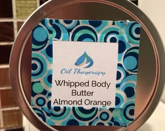 Almond Orange Whipped Body Butter