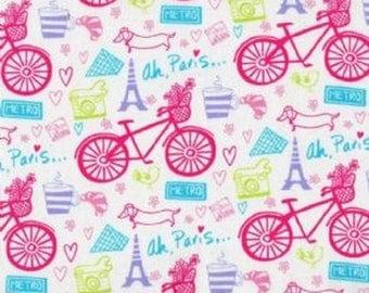 Timeless treasures Paris patchwork fabric