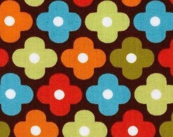 Patchwork flower Kaufman fabric