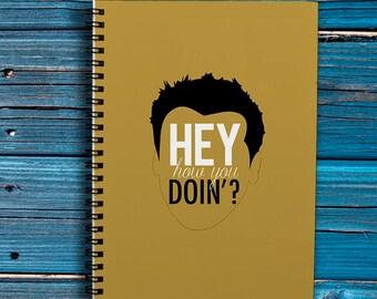 Friends Spiral Notebook Friends A4 Notebook Friends Notebook A5 Personalized Planner Friends Planner A4 Joey Friends Notepad Cute Planner A5