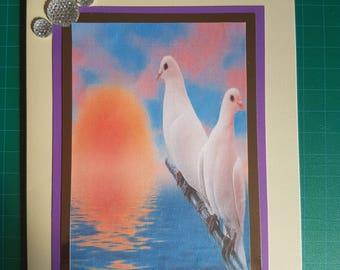 Handmade Blank Greeting Cards/ 1 Pc
