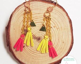 """""""Small waterfall"""" earrings"""