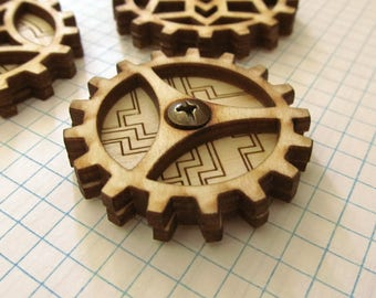 Kinetic Gear Spinner: GSM1-Maze