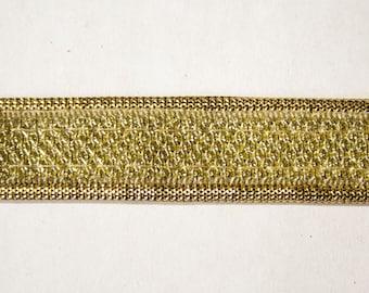 Ribbon Lurex Gold 1.8 cm x 1 m