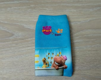 Pat fabrics and stan kids pouch