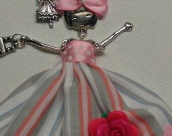 Beautiful Keychain, bag Sydounette 09