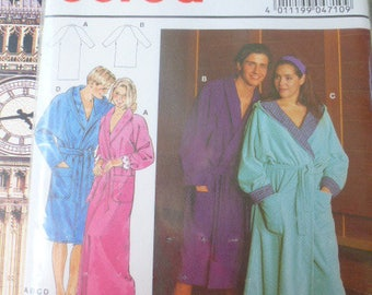 pattern Burda bathrobe men women 40/42 burda 4710 46/48