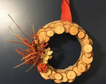 Autum Harvest Handmade Fall Wreath