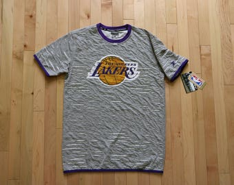 Authentic NBA Los Angeles Lakers Zipway T-shirt
