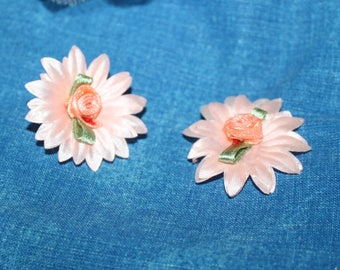 DAISIES FABRIC CLIPS