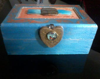 hand painted wooden jewelry boxes