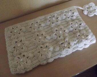 romantic feminine lingerie pouch