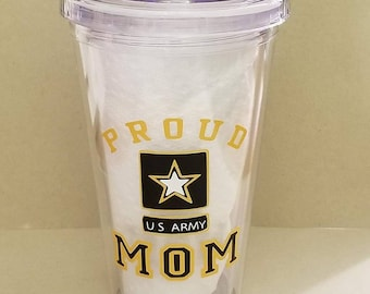 Custom Acrylic Cups. Stemless, Double wall tumbler, many options available. 16oz BPA Free
