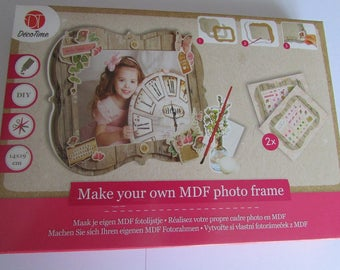 Kit to make your own photo frame