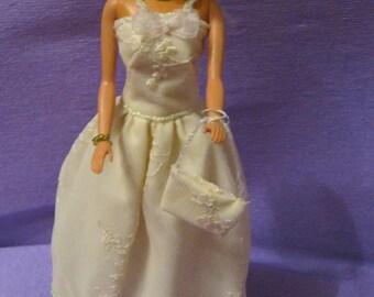 Double Tan color (B67) dress