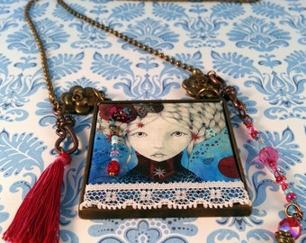 Necklace Hippie Chic Bohemian Girl Collection