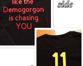 Stranger Things Inspired Custom Shirt