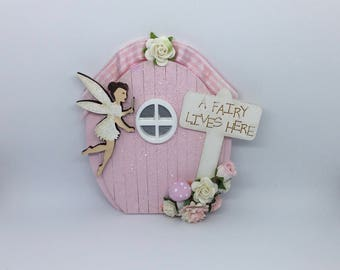 Handmade fairy door magical fairy door miniature indoor