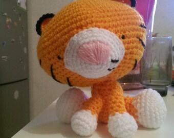 Tiger plush