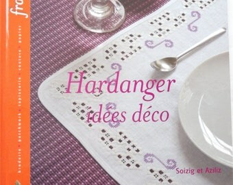 new - decorative ideas HARDANGER embroidery book