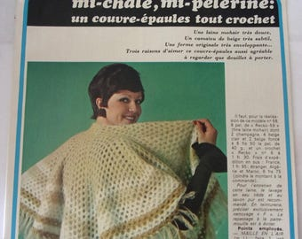 French - knitting and crochet from January 1974 knitting booklet