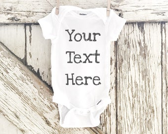 Custom Personalized Onesie