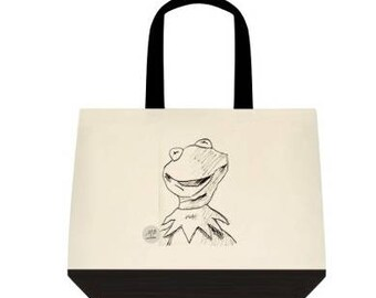 The Millennial Pop Frog Design Tote Bag