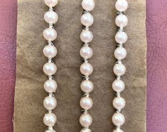Elegance made simple. Homemade Pearl Strand Bobby Pins. Quick, Simple & Chic way to add a little Vintage Glam to ANY style. Baby Pink.