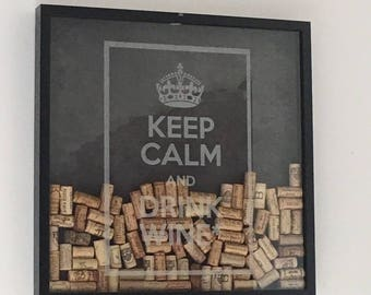 Picture/frame to put wine corks