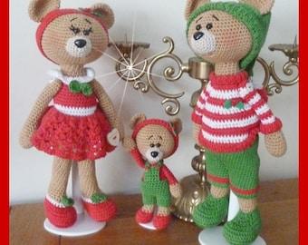 Bear, Amigurumi crochet plush