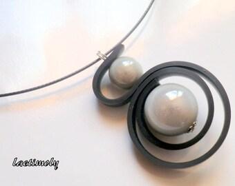 fantasy Choker necklace Gray Magic
