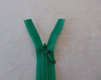 Invisible zipper closure, green jungle, 50 cm (Y-540)