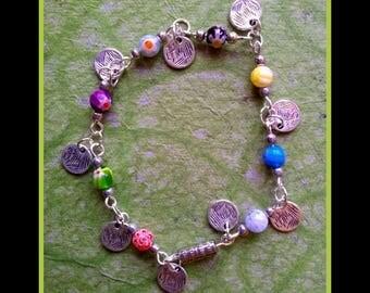 """""""Sweety"""" gypsy, Bohemian bracelet"""