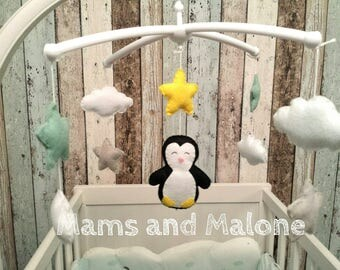 For complete Penguin crib musical mobile