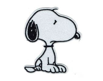 "Patch fusible ""snoopy"" pattern"