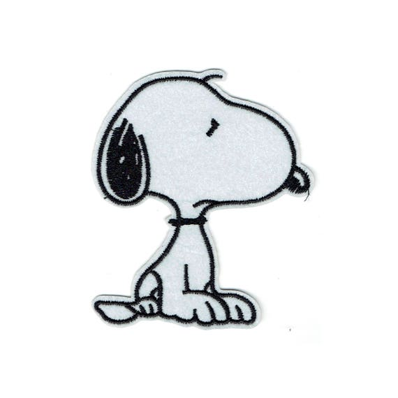 """Patch fusible """"snoopy"""" pattern"""