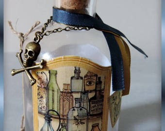 """Poison Elixir"" apothecary jar"